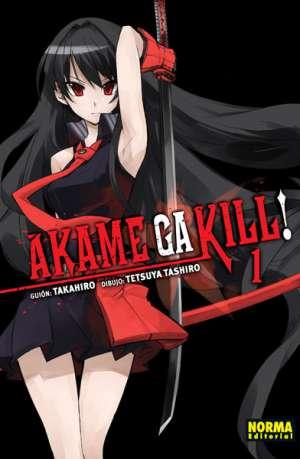 Manga Akame ga Kill!