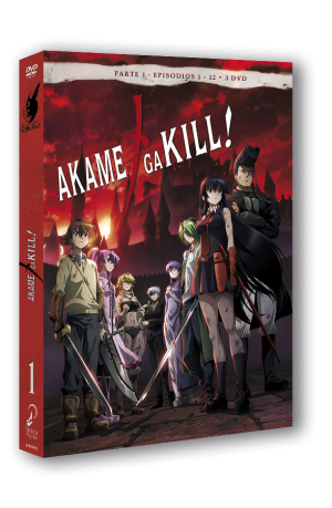 Akame ga Kill! DVD