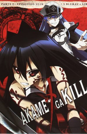 Akame ga Kill! Episodios 13 a 24 Edicion Bluray