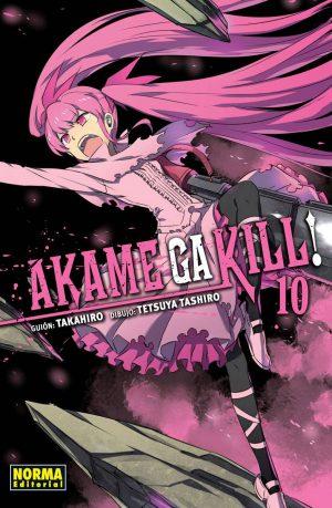 Akame ga Kill! Manga 10