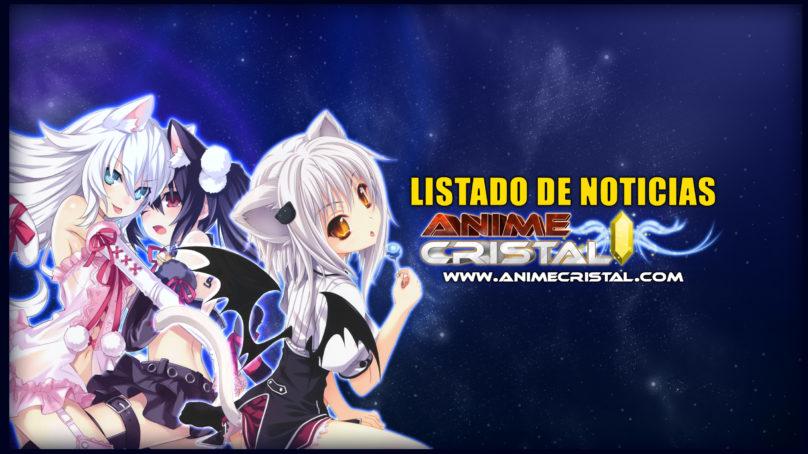 Listado de Noticias Anime