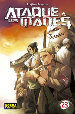Ataque a los Titanes manga tomo 23