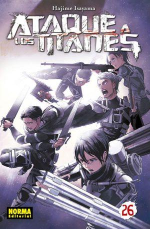 Ataque a los Titanes manga tomo 26
