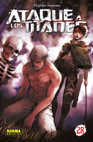 Ataque a los Titanes manga tomo 28