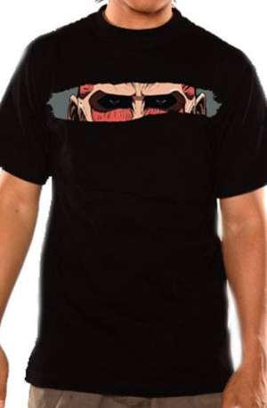 Camiseta Ataque a los Titanes Titan Eyes
