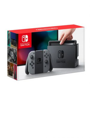 Consola Nintendo Switch HW Gris Portada
