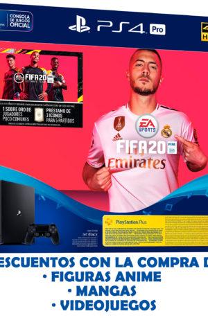 Consola PS4 Pro 1TB FIFA 20