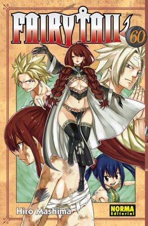 Fairy Tail manga tomo 60