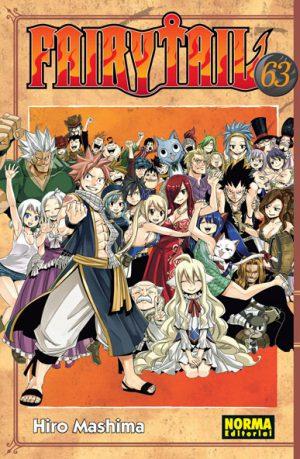 Fairy Tail manga tomo 63