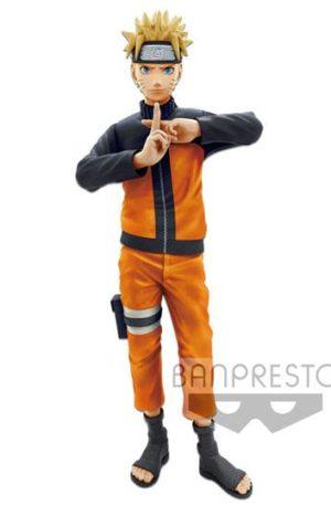 Figura Naruto Shippuden nero Uzumaki Naruto Grandista