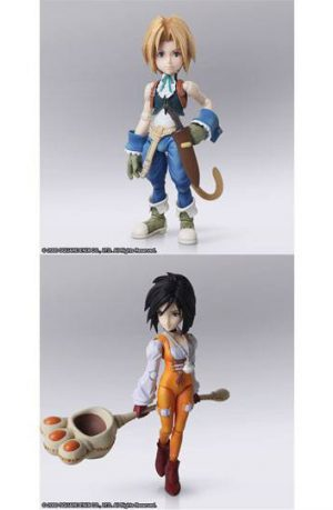 Figuras Final Fantasy IX Zidane Tribal y Garnet Til Alexandros XVII 12 - 17 cm