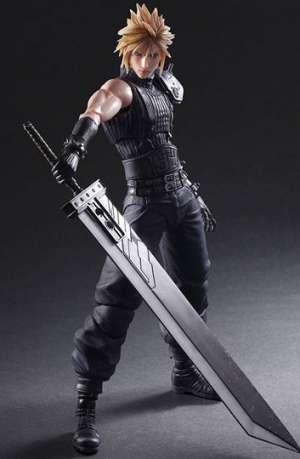 Final Fantasy VII Remake Play Arts Kai Figura No. 1 Cloud Strife 01