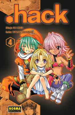 .Hack manga tomo 4