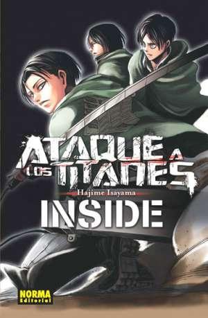 Ataque a los Titanes Inside manga