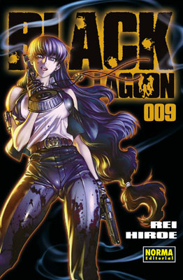Black Lagoon manga tomo 9
