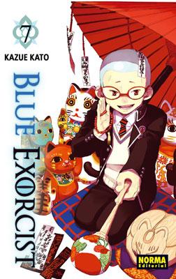 Blue Exorcist manga tomo 7