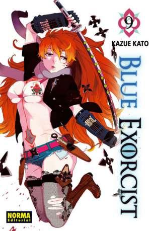 Blue Exorcist manga tomo 9