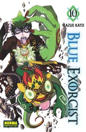 Blue Exorcist manga tomo 10