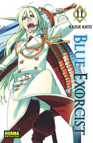 Blue Exorcist manga tomo 11