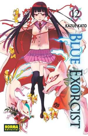 Blue Exorcist manga tomo 12