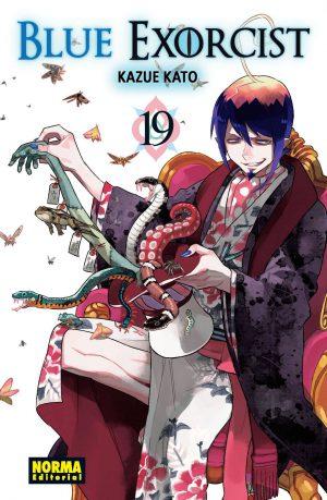 Blue Exorcist manga tomo 19