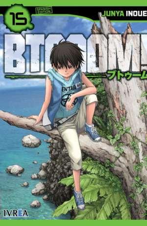 Btooom! manga tomo 15