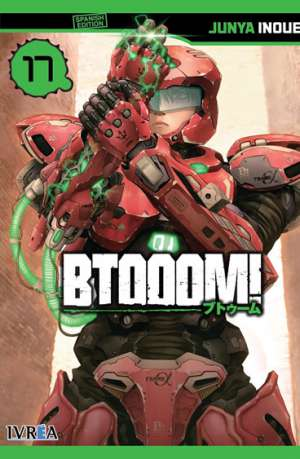 Btooom! manga tomo 17