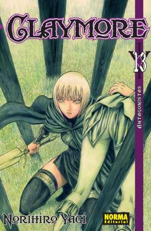 Claymore manga tomo 13