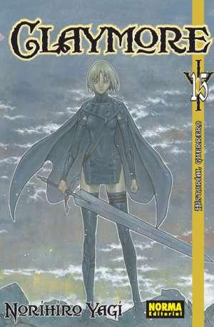 Claymore manga tomo 15
