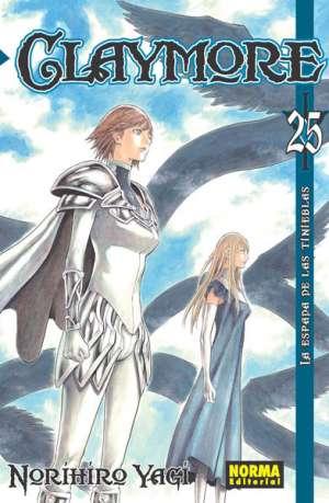 Claymore manga tomo 25
