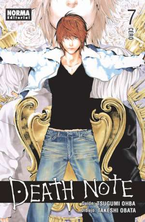 Death Note manga tomo 7 Cero