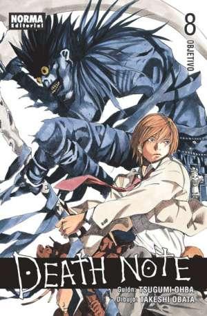 Death Note manga tomo 8 Objetivo