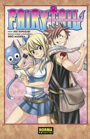 Manga Fairy Tail Los Colores del Corazon