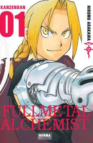 Fullmetal Alchemist Kanzenban Manga
