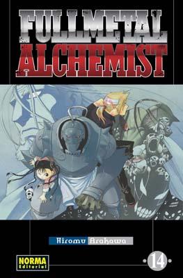 Manga Fullmetal Alchemist tomo 14