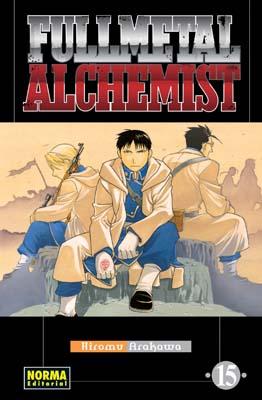 Manga Fullmetal Alchemist tomo 15
