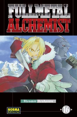 Manga Fullmetal Alchemist tomo 16
