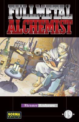 Manga Fullmetal Alchemist tomo 19