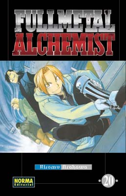 Manga Fullmetal Alchemist tomo 20
