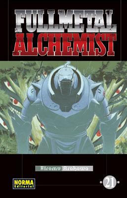 Manga Fullmetal Alchemist tomo 21