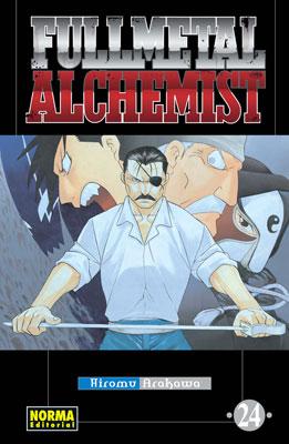 Manga Fullmetal Alchemist tomo 24