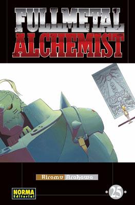 Manga Fullmetal Alchemist tomo 25