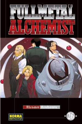Manga Fullmetal Alchemist tomo 26