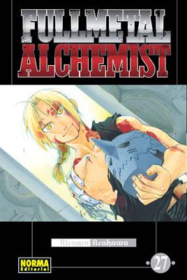 Manga Fullmetal Alchemist tomo 27