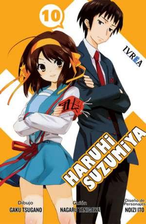 Haruhi Suzumiya Manga Tomo 10