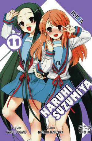 Haruhi Suzumiya Manga Tomo 11