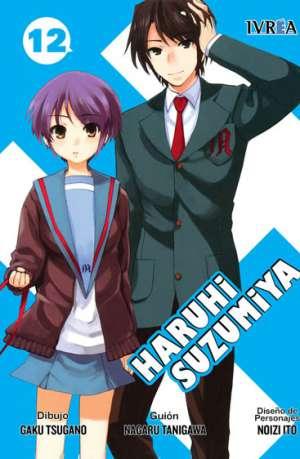 Haruhi Suzumiya Manga Tomo 12