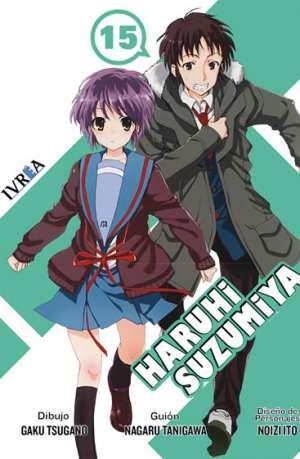 Haruhi Suzumiya Manga Tomo 15