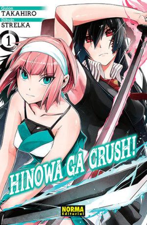 Manga Hinowa Ga Crush!