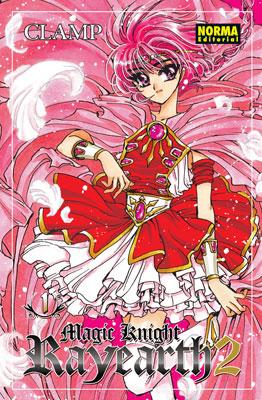 Manga Magic Knight Rayearth 2